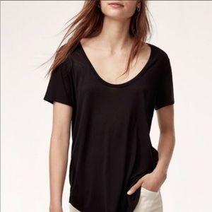 Aritzia Valmere tshirt - Black